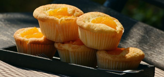 Muffins de tocino y queso cheddar - Sweetter